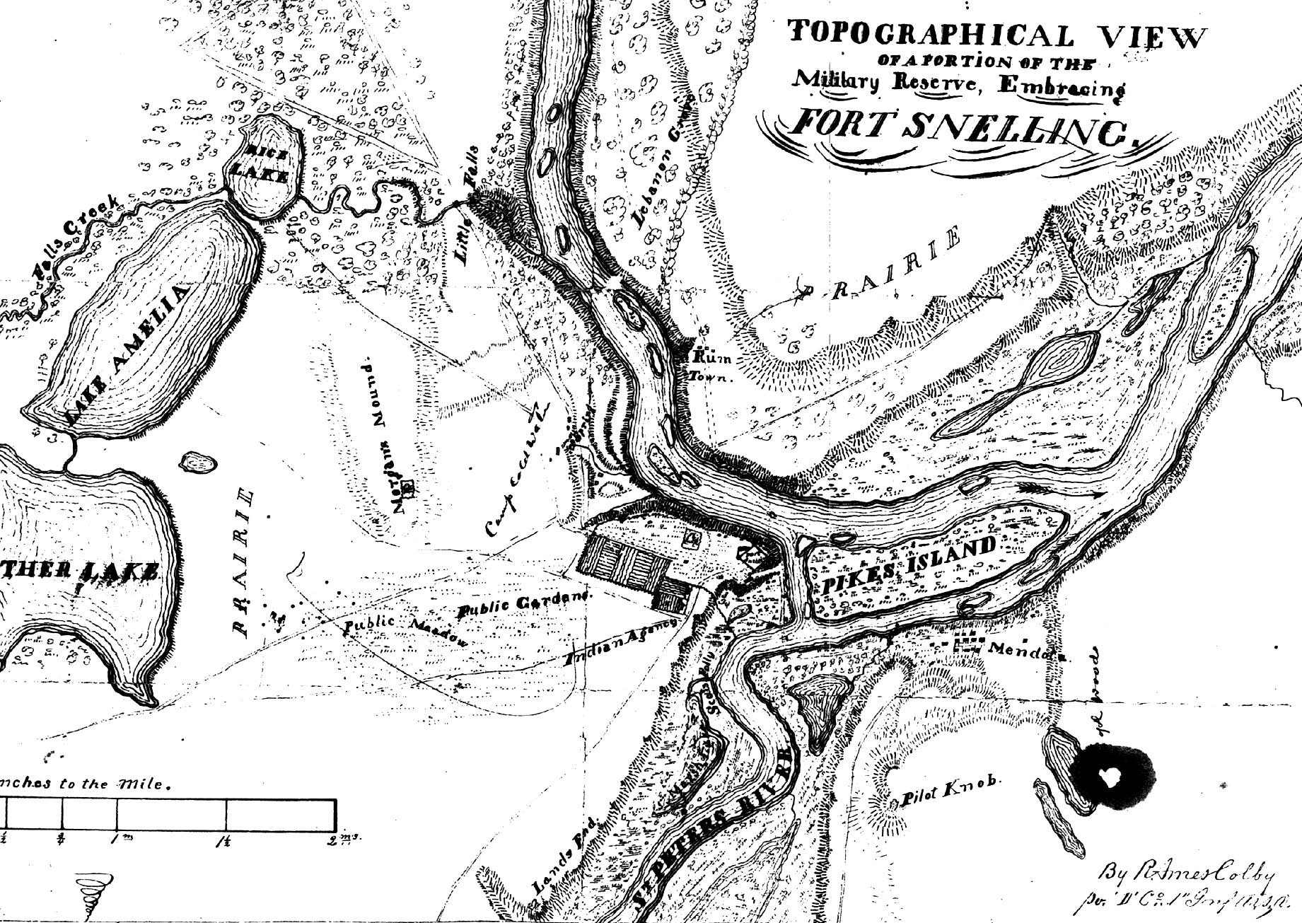 Colby Map 1850